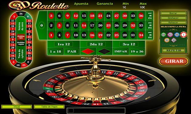 Ruleta Online 3d